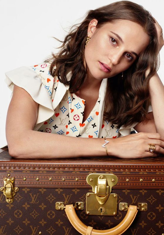 Alicia Vikander - Louis Vuitton Home For the Holidays 2020 Collection