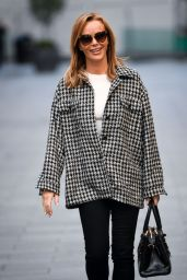 Amanda Holden in FS Collection Top in London 11/12/2020