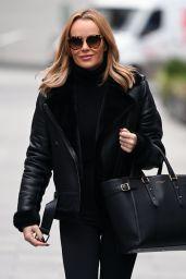 Amanda Holden - Leaving Global Studios in London 11/20/2020