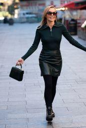 Amanda Holden - Leaving the Global Studios in London 11/04/2020