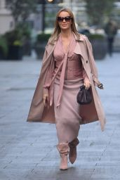 Amanda Holden - Outside the Global Radio in London 11/06/2020
