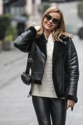 Amanda Holden Street Style - Leaving Global Radio in London 11/25/2020