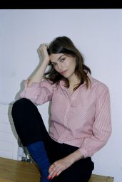 Amber Anderson - Budd Shirtmakers London Campaign 2020