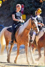 Amber Heard Horse Riding 11/28/2020
