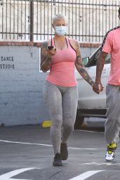 Amber Rose - Out in West Hollywood 11/04/2020