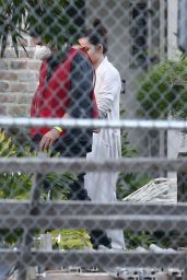 Ana De Armas - On a Film Set in New Orleans 11/20/2020