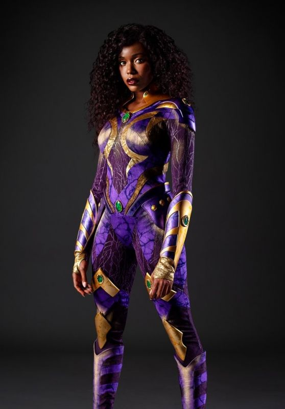 "Anna Diop - ""Titans"" Season 3 Promotional Photo"