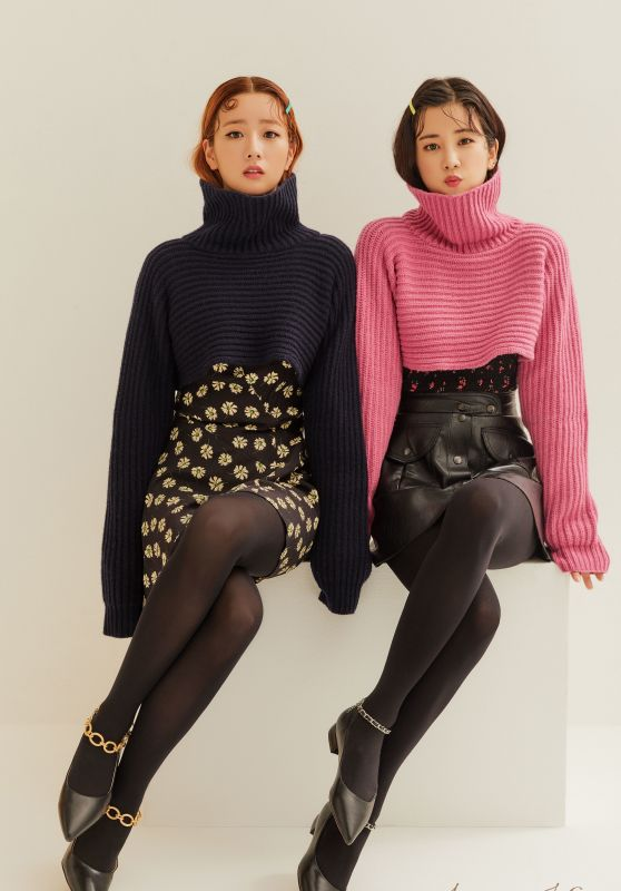 Apink (Bomi and Chorong) - Jinny Kim Korea Fall/Winter Collection 2020