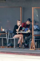 Ashley Benson and G-Eazy - Lunch at Mustard Seed Cafe in LA 11/02/2020