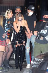 Ashley Benson - Dressed up for Halloween in LA 10/31/2020