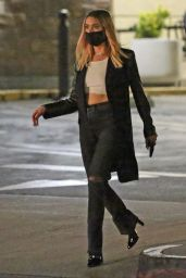 Ashley Benson - Out For Dinner in Los Angeles 11/05/2020
