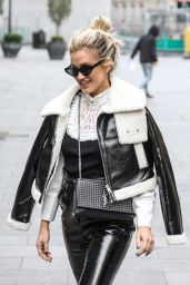 Ashley Roberts - Leaving the Global Studios in London 11/11/2020