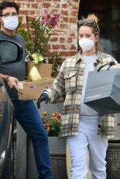 Ashley Tisdale in Rolling Greens Store Los Angeles 11/06/2020