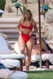 Bebe Rexha in a Red Bikini in Cabo San Lucas 11/01/2020