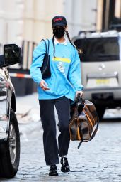 Bella Hadid in Casual Outfit - New York City 11/02/2020