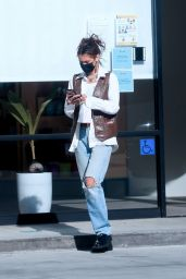 Bella Hadid - Shopping at Sweet Flower Cannabis Store in Studio City 11/08/2020