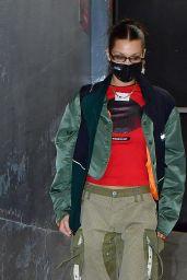 Bella Hadid Street Style - NYC 11/21/2020