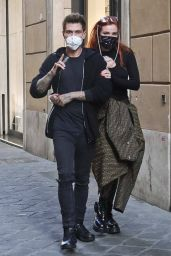 Bella Thorne and Benjamin Mascolo Holidaying in Rome 10/30/2020