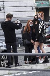 Bella Thorne - Halloween Shopping in Rome 10/31/2020
