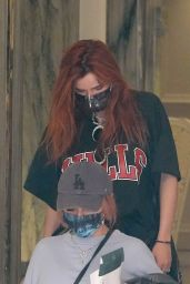 Bella Thorne - Leaving Her Hotel in Rome 11/07/2020