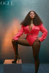Beyonce - Photoshoot for British Vogue December 2020
