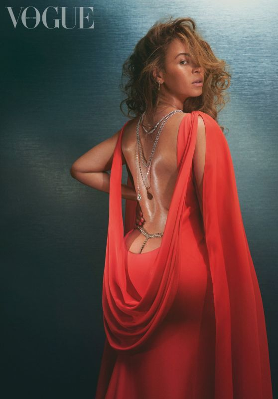 Beyonce - Photoshoot for British Vogue December 2020