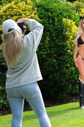 Bianca Gascoigne in a Bikini - 2021 Calendar Photoshoot