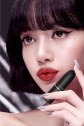 Blackpink (Lisa) - MAC Cosmetics 2020 (more photos)
