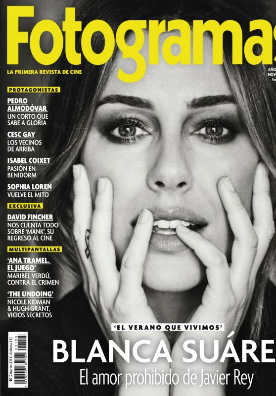 Blanca Suarez - Fotogramas Magazine November 2020 Issue