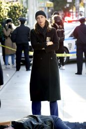 "Bridget Moynahan - ""Blue Bloods"" Set in New York 11/08/2020"