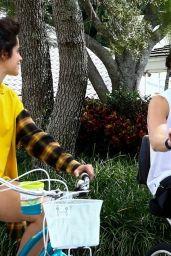 Camila Cabello and Shawn Mendes - Bike Ride in Miami 11/04/2020