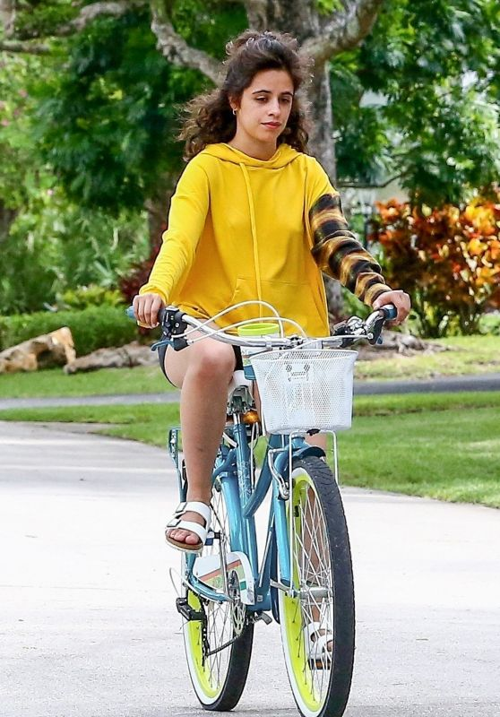 Camila Cabello and Shawn Mendes - Bike Ride in Miami 11/04/2020
