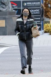 Camila Mendes - Out in Vancouver 11/08/2020