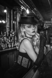 Cara Delevingne - On the Road Again Photoshoot 2020
