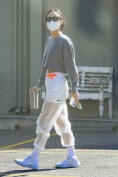 Cara Santana in a Nike Outfit - West Hollywood 11/11/2020
