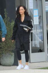 Cara Santana - Running Errands in West Hollywood 11/05/2020