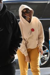 Cardi B at LAX Airport in LA 11/24/2020