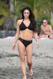 Casey Batchelor Filming for Her Fitness App Yoga Blitz - Tenerife 11/03/2020