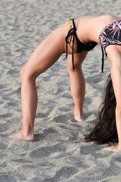 Casey Batchelor Filming for Her Fitness App Yoga Blitz - Tenerife 11/09/2020