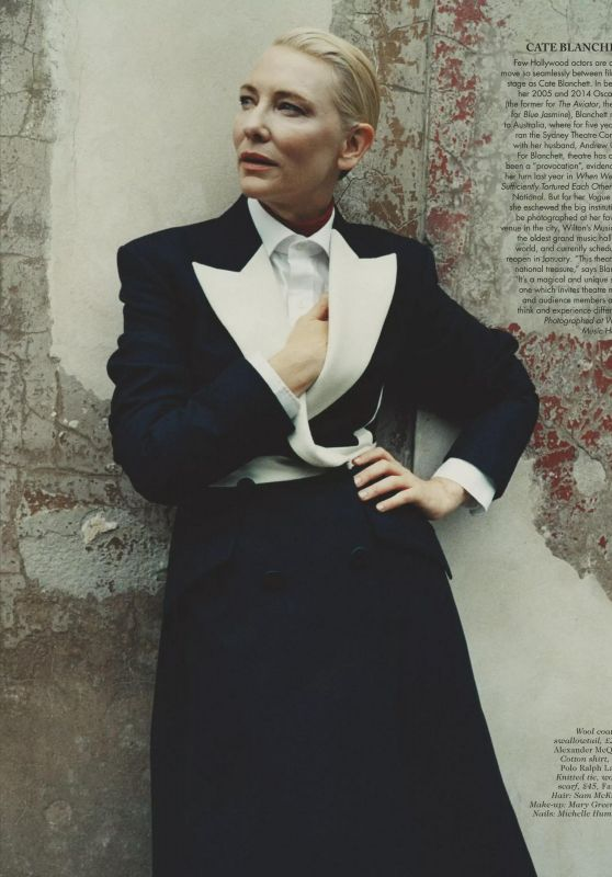 Cate Blanchett - Vogue UK December 2020 Issue