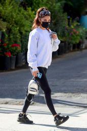Chantel Jeffries in Black Leggings - West Hollywood 11/10/2020