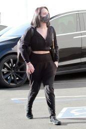Cheryl Burke - Arriving to the Dance Studio in LA 11/22/2020