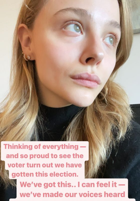 Chloe Moretz 11/05/2020