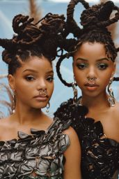 Chloe x Halle - Blanc Magazine Photoshoot Fall 2020