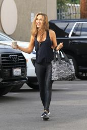 Chrishell Stause in Workout Gear - Los Angeles 11/01/2020