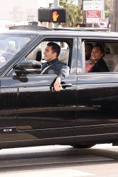 Chrissy Teigen and John Legend – Biden's Victory Parade in West Hollywood 11/07/2020