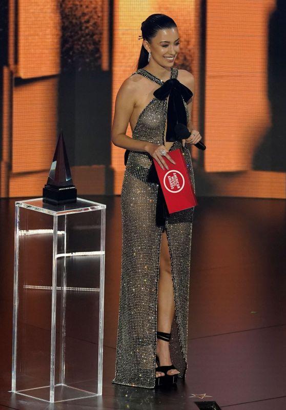 Christian Serratos - American Music Awards 2020 in Los Angeles