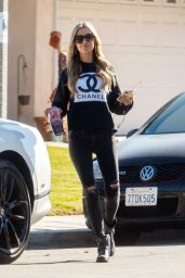 Christina Anstead in Street Outfit 11/13/2020