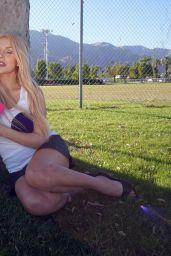 Courtney Stodden as Mean Girls Character Regina George 10/30/2020
