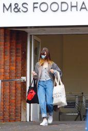 Daisy Edgar-Jones - Grocery Shopping at Marks & Spencer in London 11/06/2020